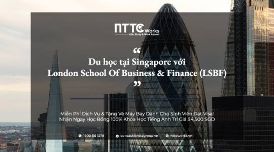 Du Học Tại London School Of Business & Finance (LSBF) Singapore