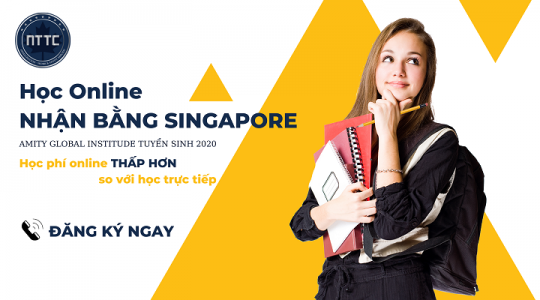 Học Online Nhận Bằng Singapore | AMITY Global Institute Tuyển Sinh 2020