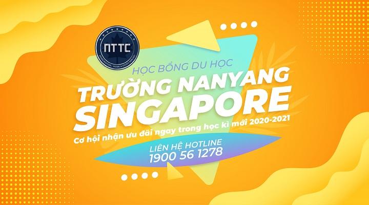 Cơn Mưa Học Bổng Singapore - Học Viện Quản Lý Nanyang 2020 (NIM)